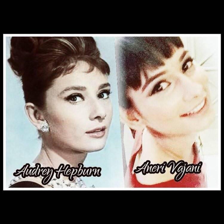 Aneri Vajani Audrey Hepburn