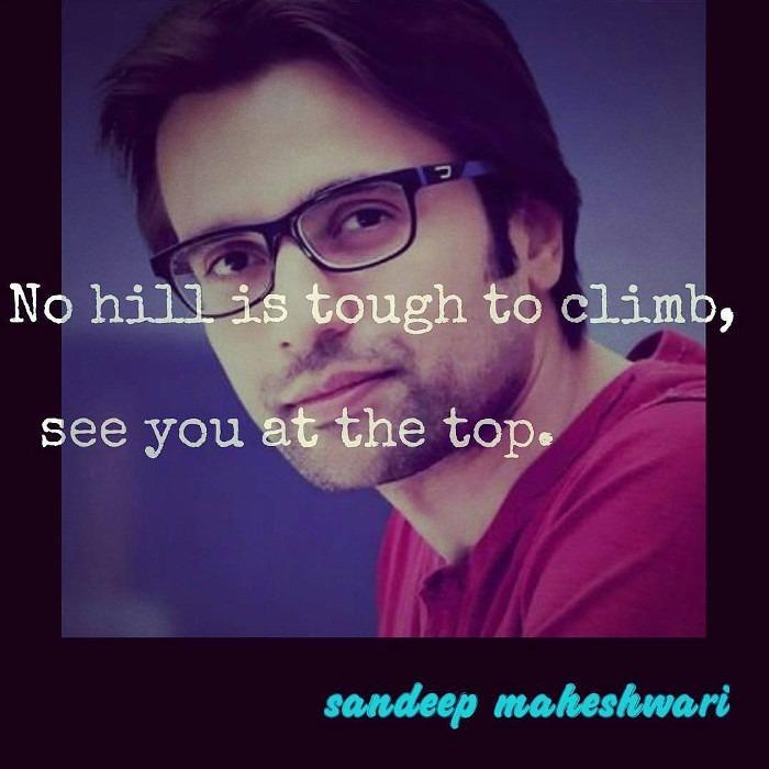 Sandeep Maheshwari Inspiration