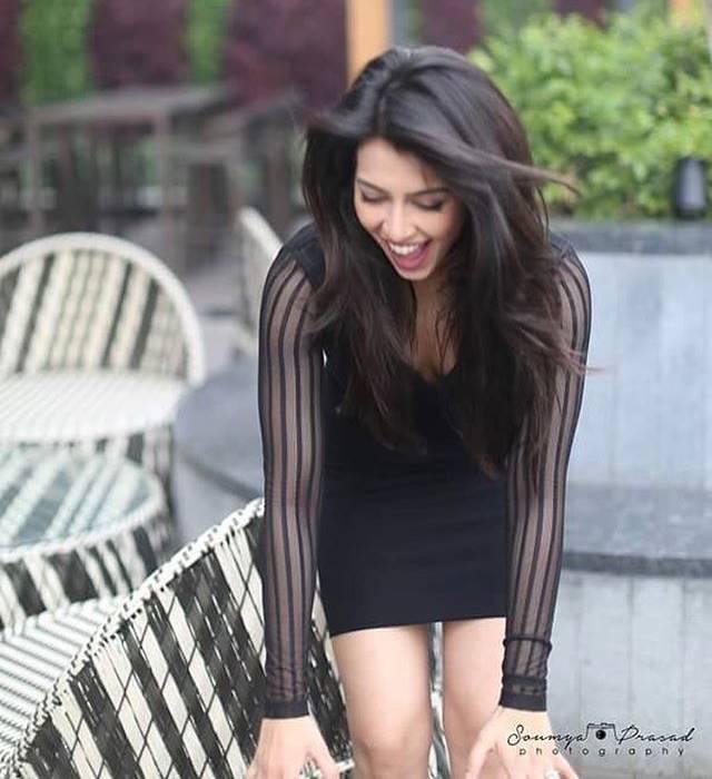 Sonika Chauhan Smile