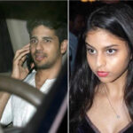 <b>Shah Rukh Khan's daughter, Suhana Khan spotted with Sidharth Malhotra outside Karan Johar's House. S...</b>