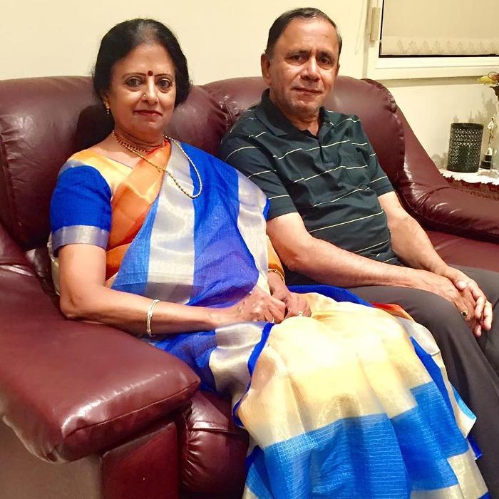 Vimala Raman Family