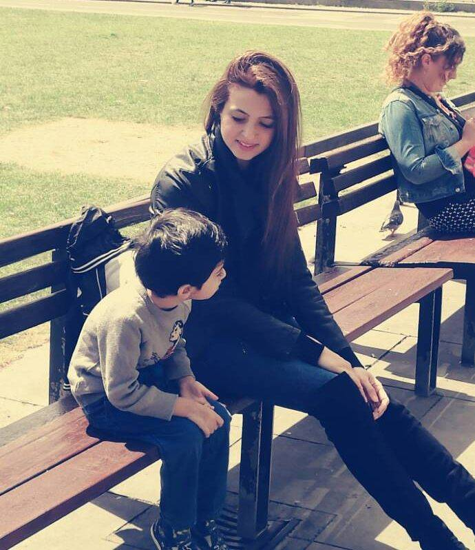 Atif Aslam Wife & Son
