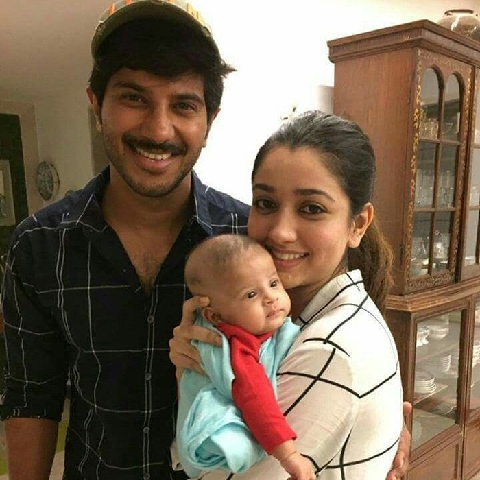 Dulquer salmaan daughter photos