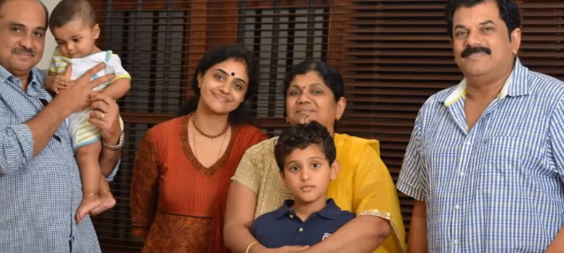 Mukesh and Methil Devika Family
