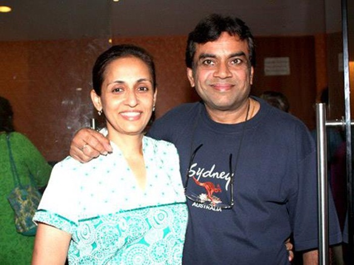 Paresh rawal wife