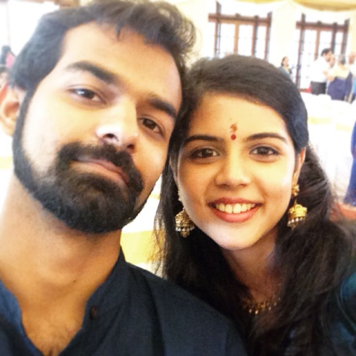 kalyani priyadarshan and pranav mohanlal