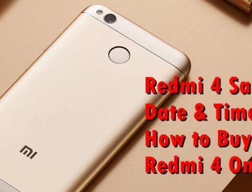 Redmi 4 64 GB Golden
