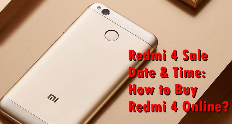 Redmi 4 64 GB Golden