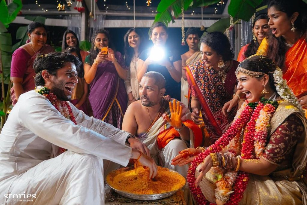 Samantha Naga Chaitanya Wedding Photos