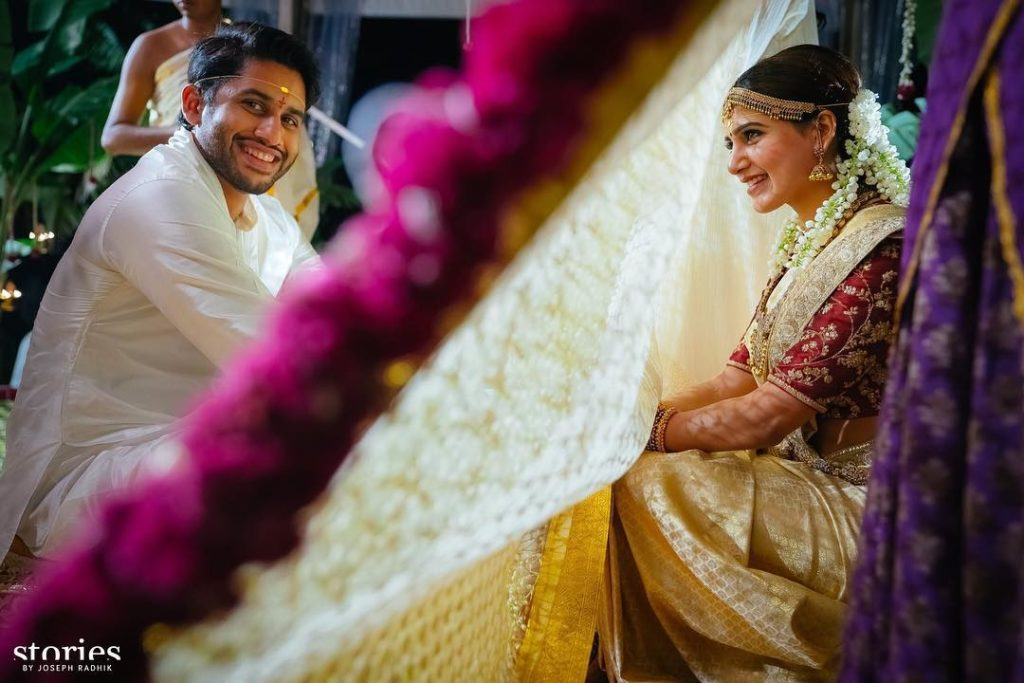 Samantha Naga Chaitanya Wedding Pics