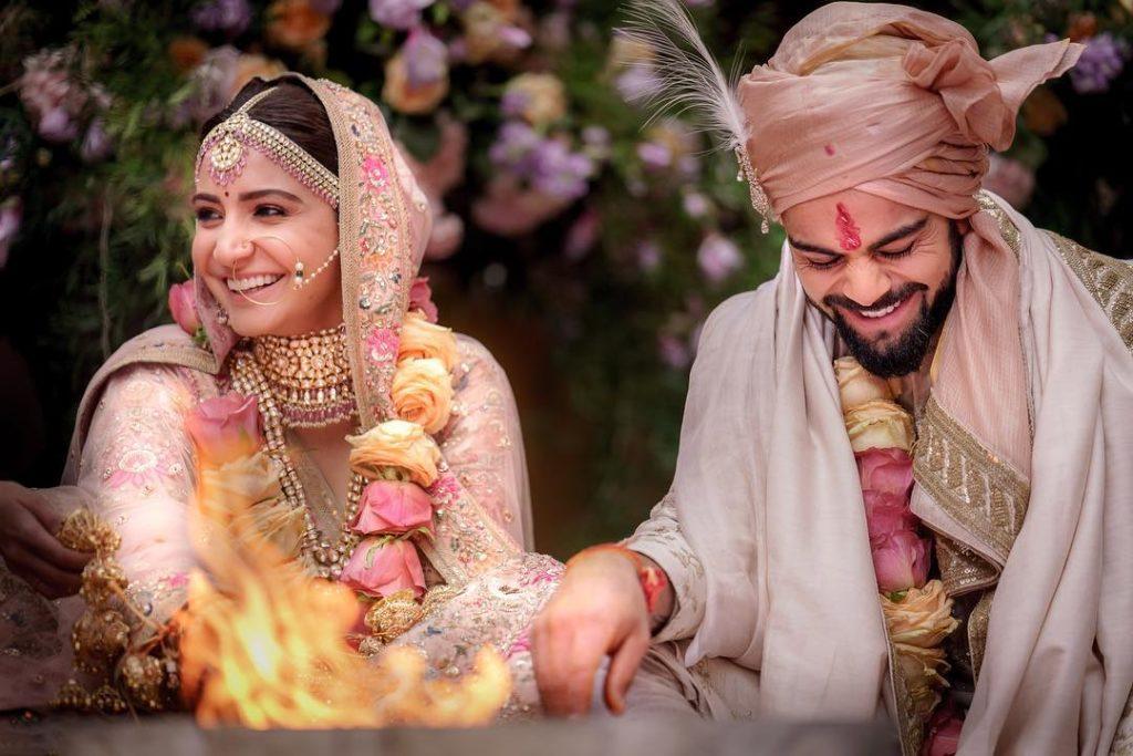 Virat Kohli Anushka Sharma Wedding Pics