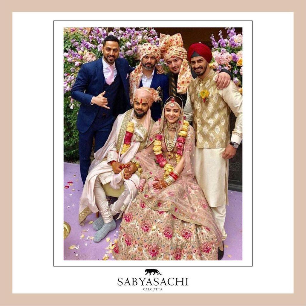 Virat Kohli Wedding Pics