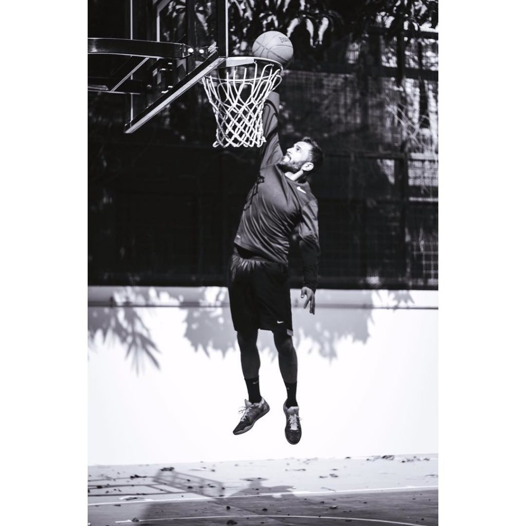 Anand Ahuja basketball