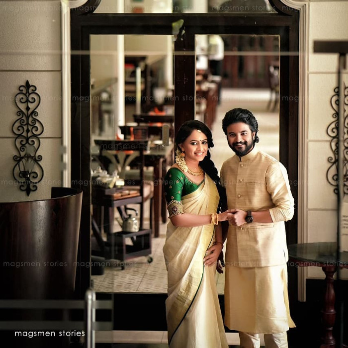neeraj madhav marriage photos