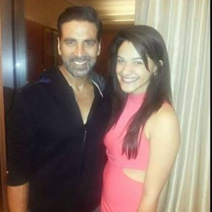 tanishka kapoor and akshay kumar